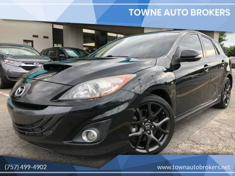 2013 Mazda MAZDASPEED3 for sale at TOWNE AUTO BROKERS in Virginia Beach VA