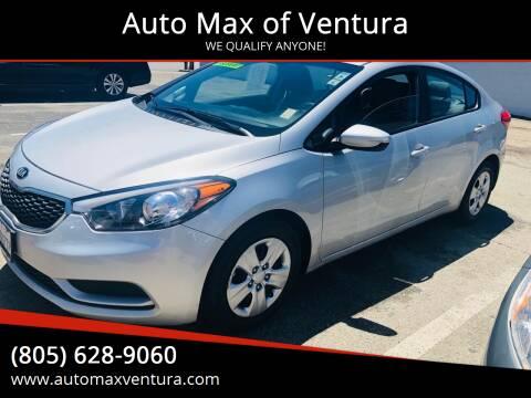 2015 Kia Forte for sale at Auto Max of Ventura in Ventura CA