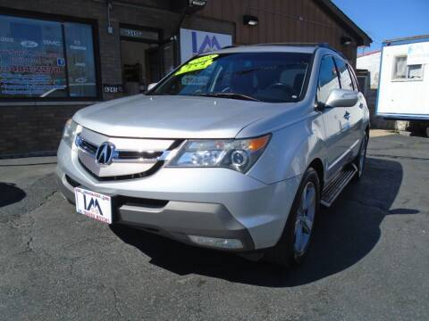 2008 Acura MDX for sale at IBARRA MOTORS INC in Cicero IL