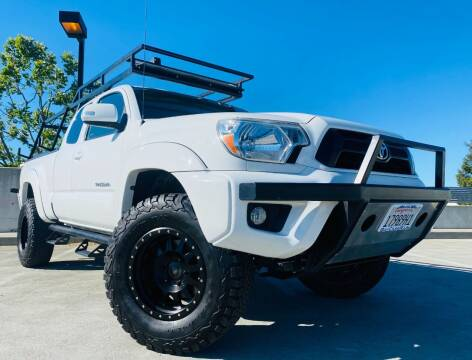 2012 Toyota Tacoma for sale at Bay Cars R Us in San Jose CA