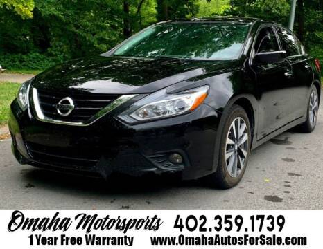 2017 Nissan Altima for sale at Omaha Motorsports in Omaha NE