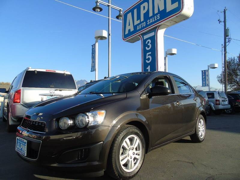 2015 Chevrolet Sonic for sale at Alpine Auto Sales in Salt Lake City UT
