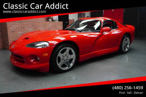 2002 Dodge Viper for sale at Classic Car Addict in Mesa AZ
