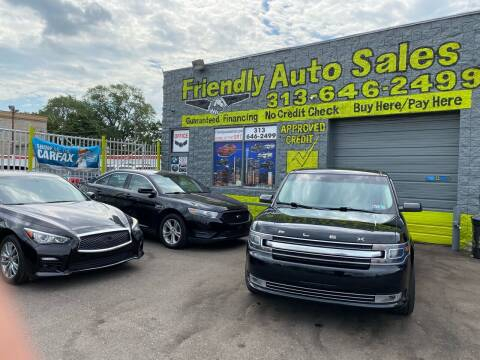 2014 Ford Flex for sale at Friendly Auto Sales in Detroit MI