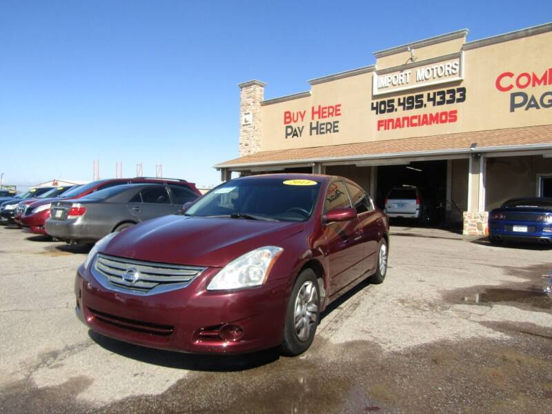 2011 Nissan Altima for sale at Import Motors in Bethany OK