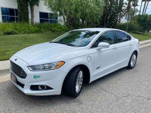 2014 Ford Fusion Energi for sale at Donada  Group Inc in Arleta CA