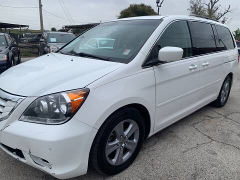 2008 Honda Odyssey for sale at FAIR DEAL AUTO SALES INC in Houston TX
