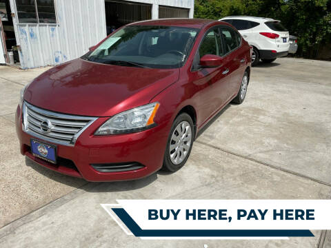 2015 Nissan Sentra for sale at H3 MOTORS in Dickinson TX