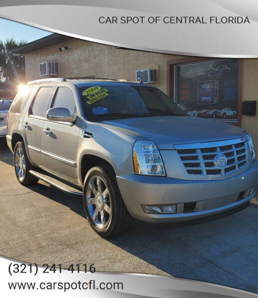 2009 Cadillac Escalade for sale at Car Spot Of Central Florida in Melbourne FL