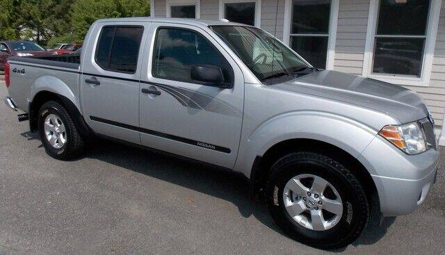 2012 Nissan Frontier for sale at Bachettis Auto Sales in Sheffield MA