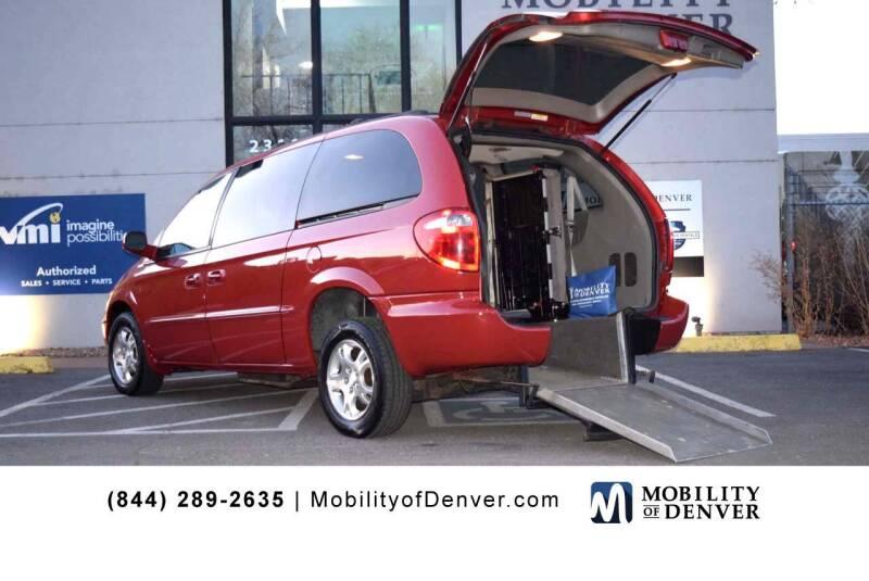 2001 Dodge Grand Caravan for sale at CO Fleet & Mobility in Denver CO