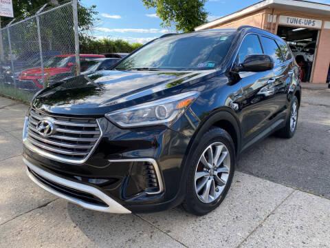 2017 Hyundai Santa Fe for sale at Seaview Motors and Repair LLC in Bridgeport CT