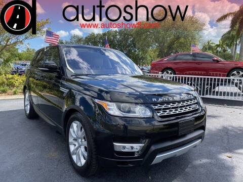 2017 Land Rover Range Rover Sport for sale at AUTOSHOW SALES & SERVICE in Plantation FL