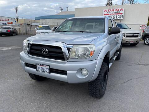 2005 Toyota Tacoma for sale at Adams Auto Sales in Sacramento CA