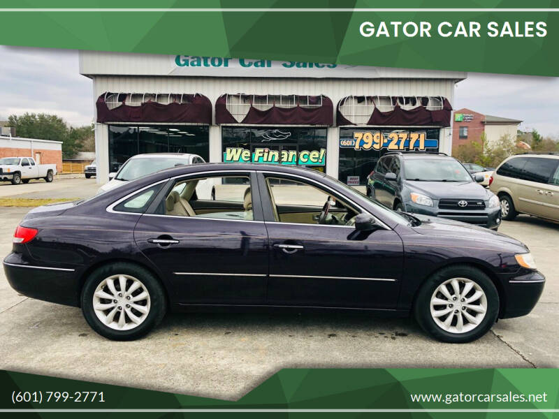 2007 Hyundai Azera for sale at Gator Car Sales in Picayune MS