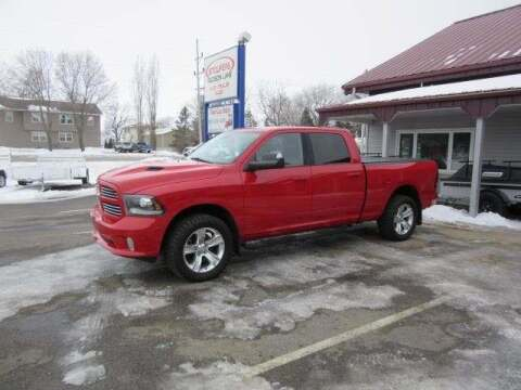 2014 RAM Ram Pickup 1500 for sale at Stoufers Auto Sales, Inc in Madison Lake MN