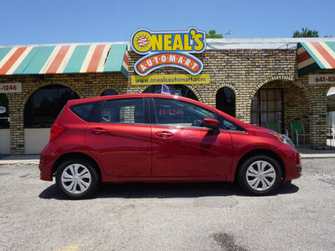 2019 Nissan Versa Note for sale at Oneal's Automart LLC in Slidell LA
