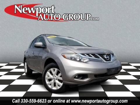 2012 Nissan Murano for sale at Newport Auto Group in Austintown OH
