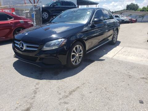 2016 Mercedes-Benz C-Class for sale at INTERNATIONAL AUTO BROKERS INC in Hollywood FL