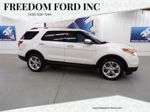 2014 Ford Explorer for sale at Freedom Ford Inc in Gunnison UT