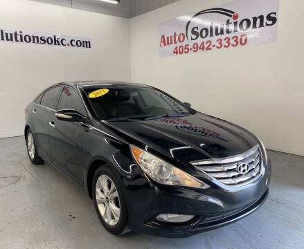 2011 Hyundai Sonata for sale at Auto Solutions in Warr Acres OK
