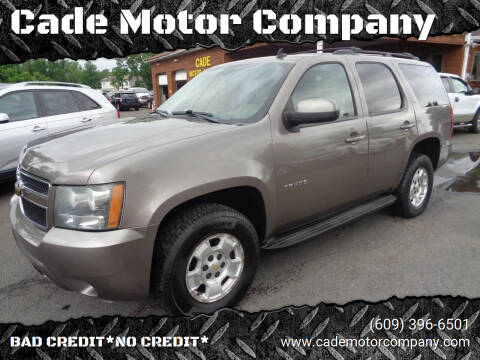 2011 Chevrolet Tahoe for sale at Cade Motor Company in Lawrenceville NJ