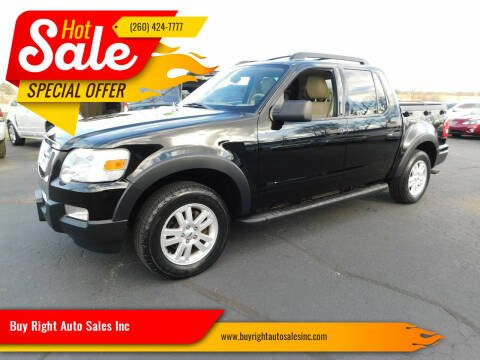 2010 Ford Explorer Sport Trac for sale at Buy Right Auto Sales Inc in Fort Wayne IN
