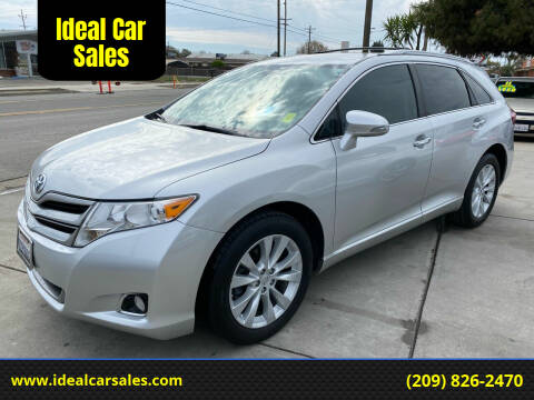 2013 Toyota Venza for sale at Ideal Car Sales in Los Banos CA