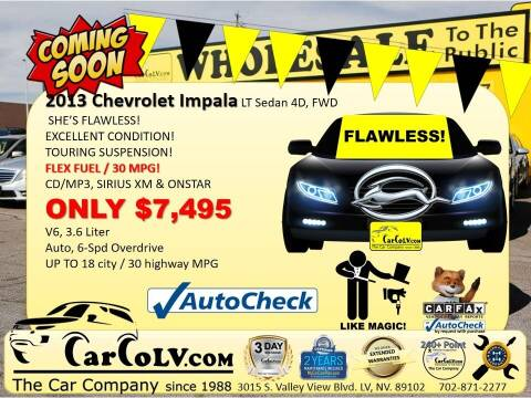 2013 Chevrolet Impala for sale at The Car Company in Las Vegas NV