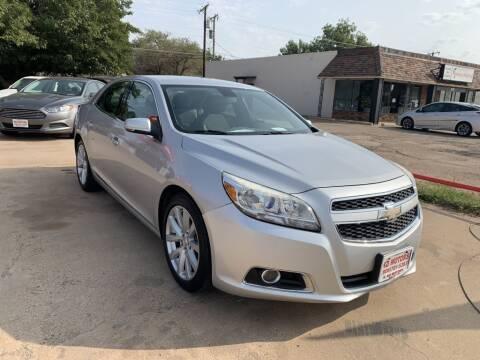 2013 Chevrolet Malibu for sale at KD Motors in Lubbock TX