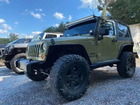 2013 Jeep Wrangler for sale at 216 Auto Sales in Mc Calla AL