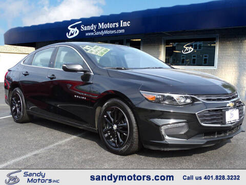 2017 Chevrolet Malibu for sale at Sandy Motors Inc in Coventry RI