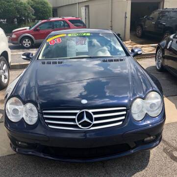 2003 Mercedes-Benz SL-Class for sale at Iconic Motors of Oklahoma City, LLC in Oklahoma City OK