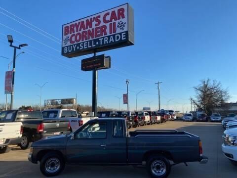 1995 Nissan Truck for sale at Bryans Car Corner in Chickasha OK