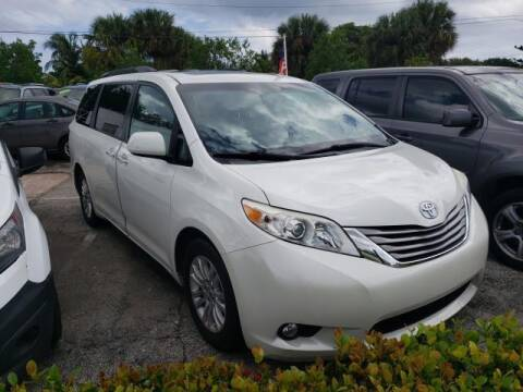 2015 Toyota Sienna for sale at Mike Auto Sales in West Palm Beach FL