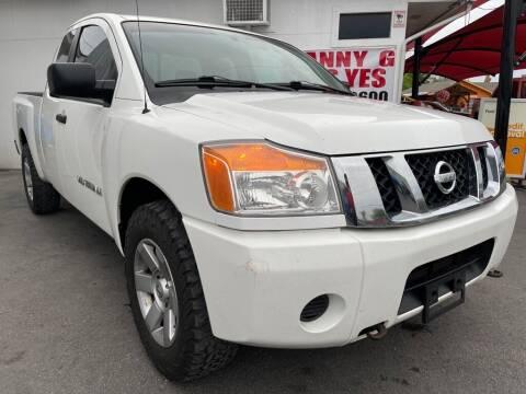 2009 Nissan Titan for sale at Manny G Motors in San Antonio TX
