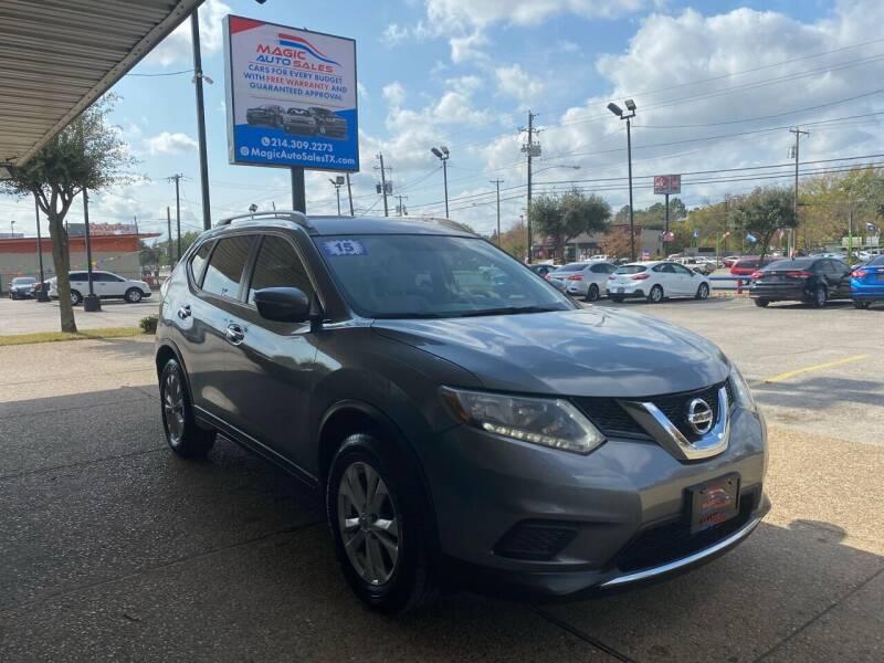2015 Nissan Rogue for sale at Magic Auto Sales in Dallas TX