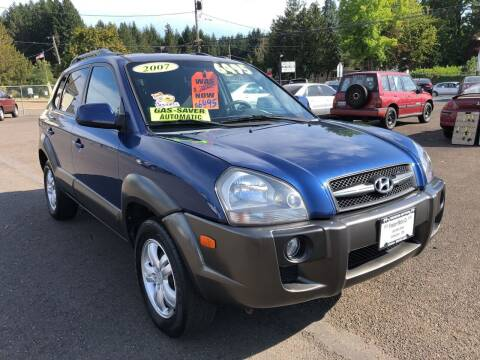 2007 Hyundai Tucson for sale at Freeborn Motors in Lafayette, OR