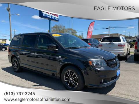 2014 Dodge Grand Caravan for sale at Eagle Motors in Hamilton OH
