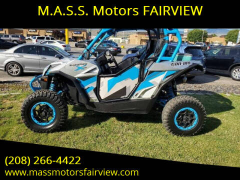 2016 Can-Am MAVERICK MAX X DS 1000 for sale at M.A.S.S. Motors - Fairview in Boise ID