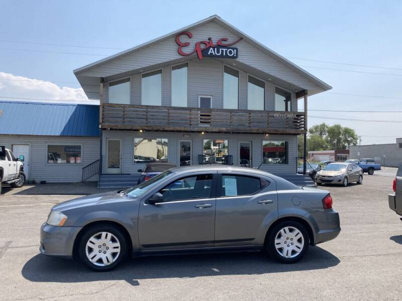 2012 Dodge Avenger for sale at Epic Auto in Idaho Falls ID
