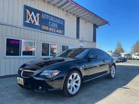 2006 BMW 6 Series for sale at M & A Affordable Cars in Vancouver WA