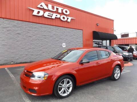 2014 Dodge Avenger for sale at Auto Depot of Madison in Madison TN