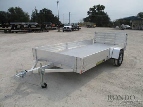 2022 Aluma Aluminum Single Axle Utility 8 for sale at Rondo Truck & Trailer in Sycamore IL