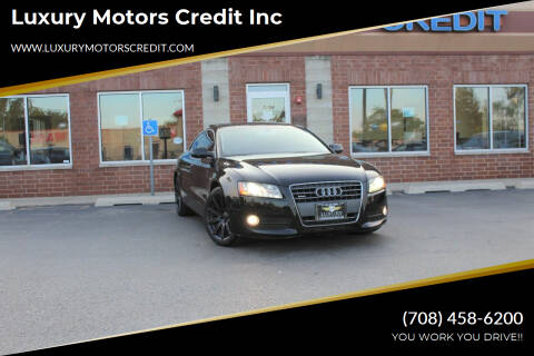 2011 Audi A5 for sale at Luxury Motors Credit Inc in Bridgeview IL