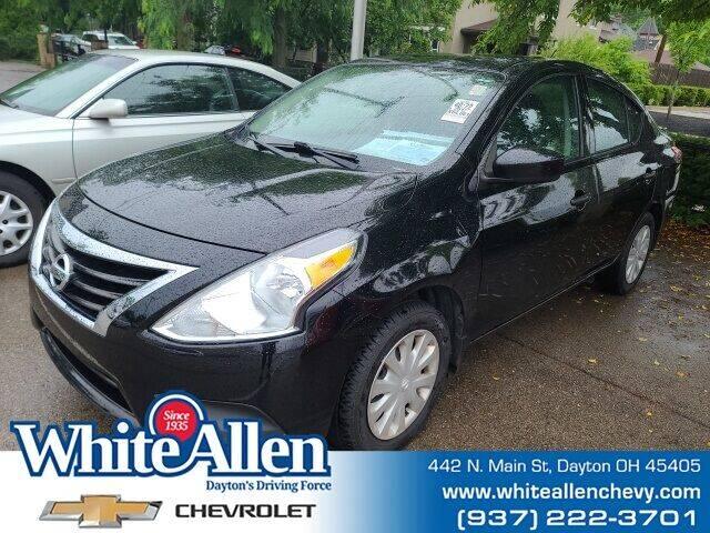 2017 Nissan Versa for sale at WHITE-ALLEN CHEVROLET in Dayton OH