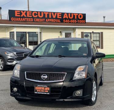 2012 Nissan Sentra for sale at Executive Auto in Winchester VA