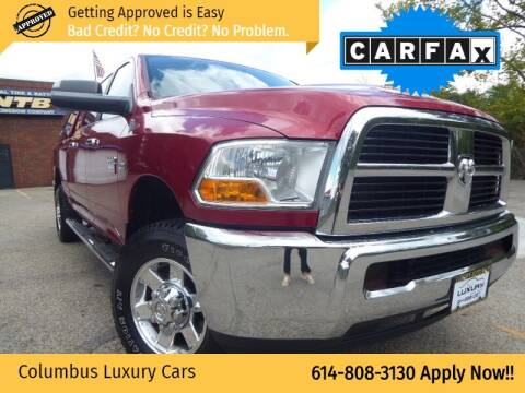 2010 Dodge Ram Pickup 2500 for sale at Columbus Luxury Cars in Columbus OH