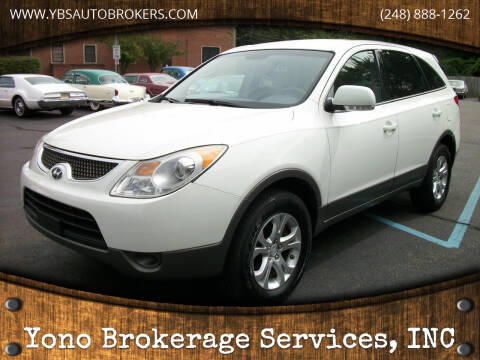 2007 Hyundai Veracruz for sale at Yono Brokerage Services, INC in Farmington MI