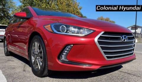 2017 Hyundai Elantra for sale at Colonial Hyundai in Downingtown PA